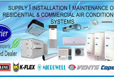 Air Conditioning – Contractors, Engineers, Installation & Maintenance. In Qatar