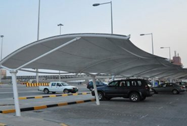 Car parking shades manufactured in Qatar